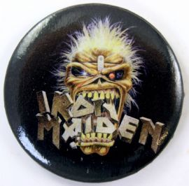 Iron Maiden - 'Crunch' 56mm Badge